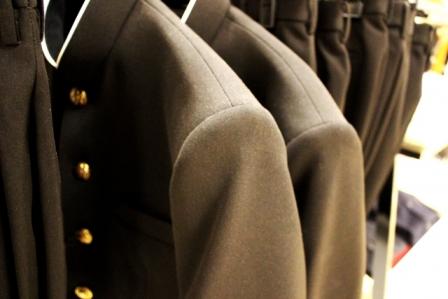 制服の臭いはどんどん蓄積する